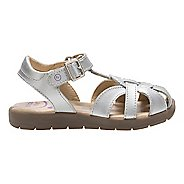 Stride Rite Summer Time Sandals Shoe - Silver 1Y