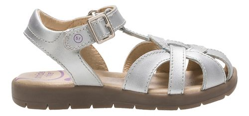 Stride Rite Summer Time Sandals Shoe - Silver 6.5C