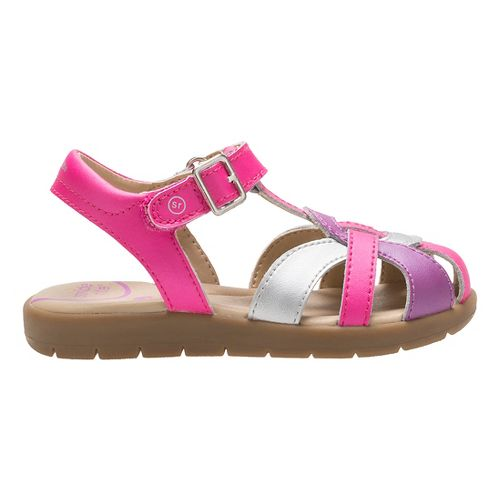 Stride Rite Summer Time Sandals Shoe - Pink Multi 13.5C