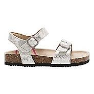 Stride Rite Zuly Sandals Shoe - Silver 5C