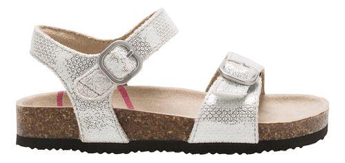 Stride Rite Zuly Sandals Shoe - Silver 10C