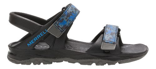 Merrell Hydro Drift Sandals Shoe - Black/Navy 7Y