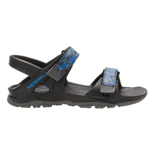 Merrell Hydro Drift Sandals Shoe - Black/Navy 2Y