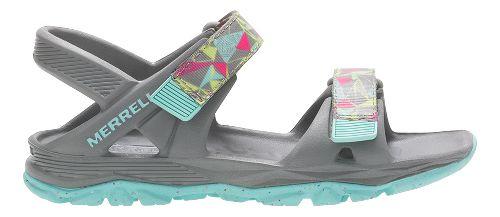 Merrell Hydro Drift Sandals Shoe - Grey/Multi 13C