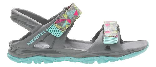 Merrell Hydro Drift Sandals Shoe - Grey/Multi 7Y