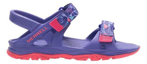 Merrell Hydro Drift Sandals Shoe - Purple/Coral 7Y