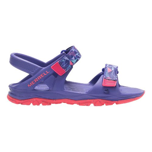 Merrell Hydro Drift Sandals Shoe - Purple/Coral 4Y