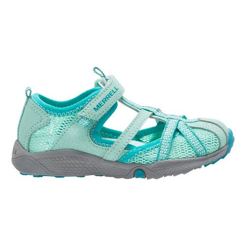 Merrell Hydro Monarch Junior Sandals Shoe - Turquoise 8C