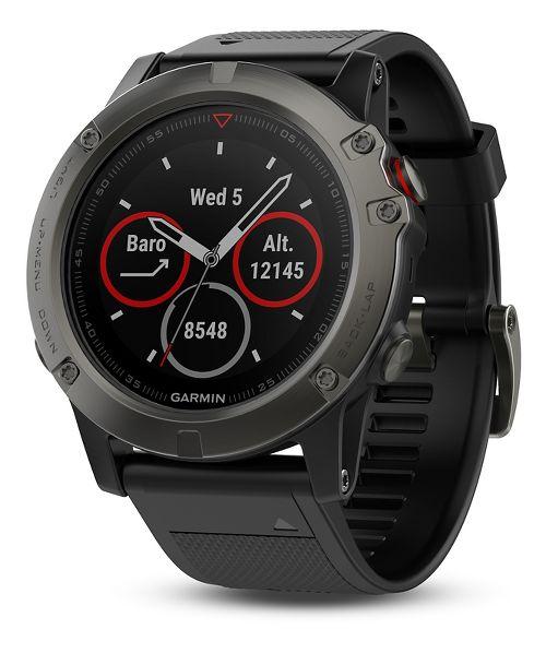 Garmin fenix 5X Sapphire Watch Monitors - Slate Grey/Black