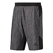 Mens Adidas Vertical Heather Unlined Shorts
