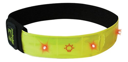 Amphipod Micro-Light Flashing Reflective Arm Band Safety - Hi-Viz Green
