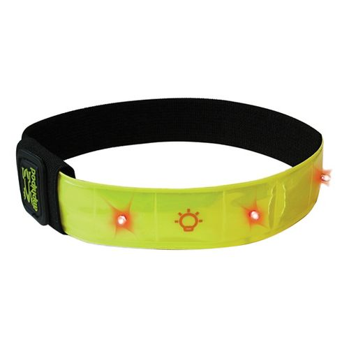 Amphipod Micro-Light Flashing Reflective Arm Band Safety - Hi-Viz Green