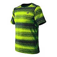 Mens New Balance Kairosport Tee Short Sleeve Technical Tops