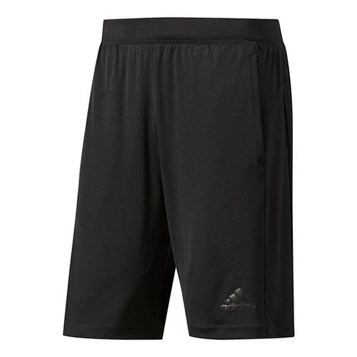 Mens Adidas SpeedBreaker Tech Unlined Shorts - Black L