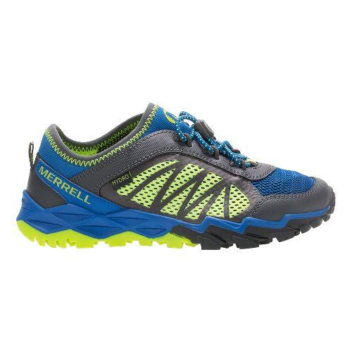 Merrell Hydro Run 2.0 Trail Running Shoe - Blue/Grey/Citron 10.5C