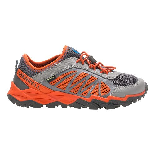Merrell Hydro Run 2.0 Trail Running Shoe - Grey/Orange 7Y