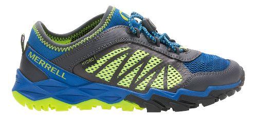 Merrell Hydro Run 2.0 Trail Running Shoe - Blue/Grey/Citron 7Y