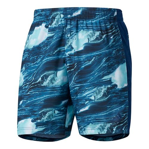 Mens Adidas Supernova Parley Unlined Shorts - Mystery Blue L