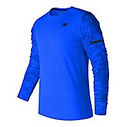 Mens New Balance Max Intensity Long Sleeve Technical Tops
