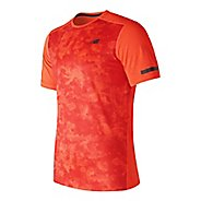 Mens New Balance Max Intensity Short Sleeve Technical Tops