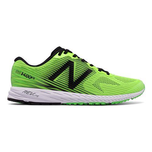 Mens New Balance 1400v5 Running Shoe - Lime/Black 13