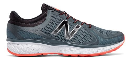 Mens New Balance 720v4 Running Shoe - Thunder/Orange 10.5