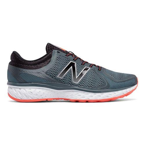 Mens New Balance 720v4 Running Shoe - Thunder/Orange 8