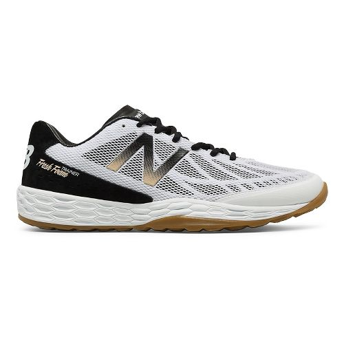Mens New Balance 80v3 Cross Training Shoe - Black/White 15