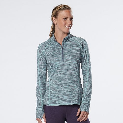 Womens R-Gear Ready To Go Half-Zips & Hoodies Technical Tops - Grey Mist/Sea Glass M