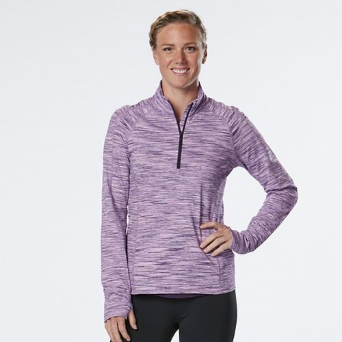 Womens R-Gear Ready To Go Half-Zips & Hoodies Technical Tops - Let's Jam/Orchid L