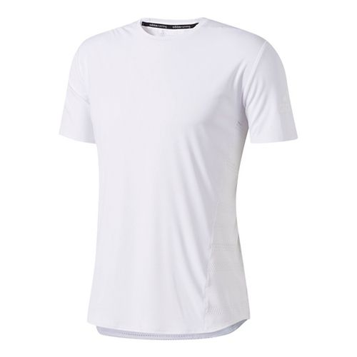 Mens Adidas Supernova Tokyo Cool Tee Short Sleeve Technical Tops - White XL