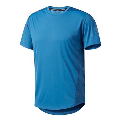 Mens Adidas Supernova Tokyo Cool Tee Short Sleeve Technical Tops - Core Blue S