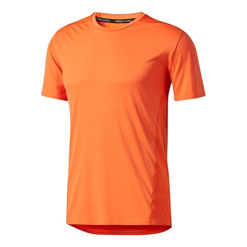Mens Adidas Supernova Tokyo Cool Tee Short Sleeve Technical Tops - Energy Orange M