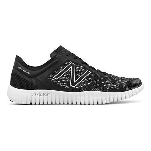 Mens New Balance 99v2 Cross Training Shoe - White/Black 10.5