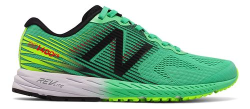 Womens New Balance 1400v5 Running Shoe - Green/Black 7.5
