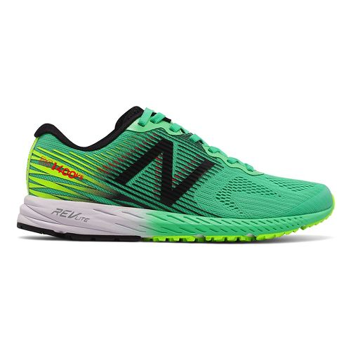 Womens New Balance 1400v5 Running Shoe - Green/Black 7