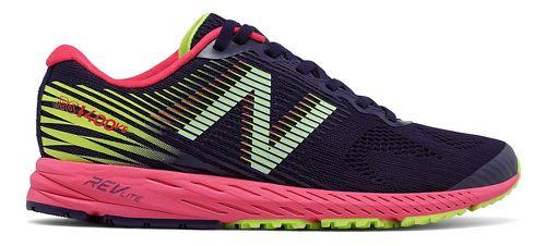 Womens New Balance 1400v5 Running Shoe - Navy/Pink 11