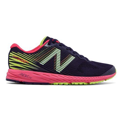 Womens New Balance 1400v5 Running Shoe - Navy/Pink 9
