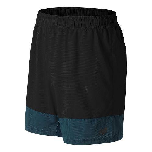 Mens New Balance Hybrid Tech Unlined Shorts - Black M