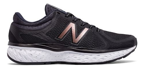 Womens New Balance 720v4 Running Shoe - Black/Rose Gold 7