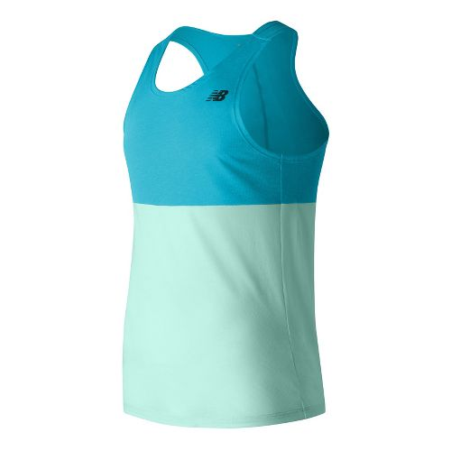 Mens New Balance CBK Breathe Sleeveless & Tank Technical Tops - Blue Heather XL