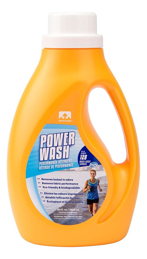 Nathan Power Wash Performance Detergent 64 ounce Fitness Equipment - null