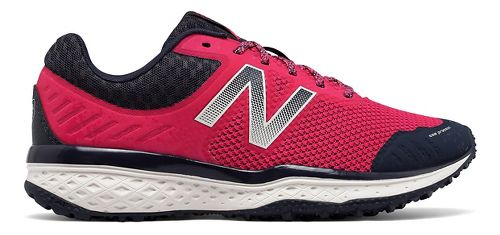 Womens New Balance T620v2 Trail Running Shoe - Pink/Navy 7.5