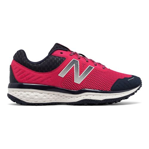 Womens New Balance T620v2 Trail Running Shoe - Pink/Navy 6.5