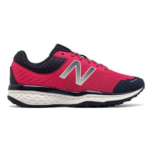 Womens New Balance T620v2 Trail Running Shoe - Pink/Navy 7.5