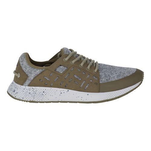 Womens Sperry 7 SEAS Sport Wool Casual Shoe - Olive/Grey 7.5