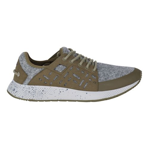 Womens Sperry 7 SEAS Sport Wool Casual Shoe - Olive/Grey 9