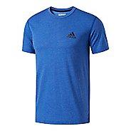 Mens Adidas Ultimate Crew Tee Short Sleeve Technical Tops
