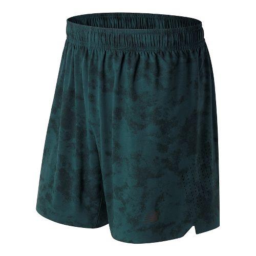 Mens New Balance Printed Shift Unlined Shorts - Supercell Print XL
