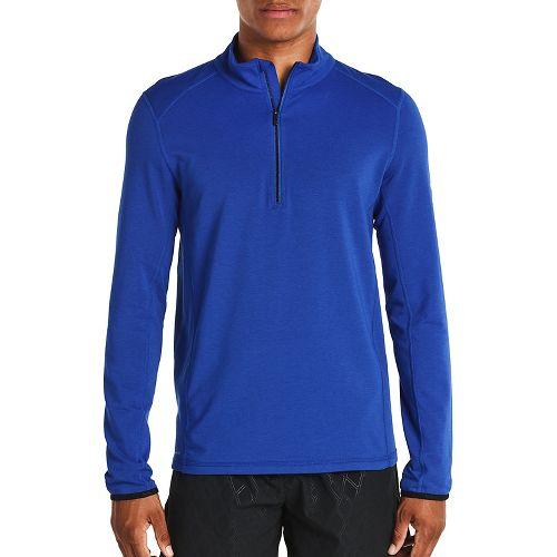 Mens Saucony Evolution Sportop Half-Zips & Hoodies Technical Tops - Varsity Blue L